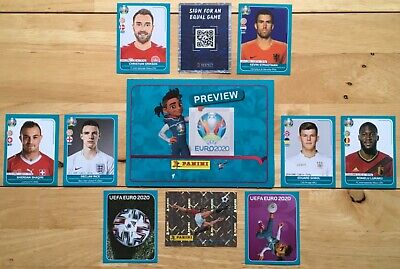 £0.99 • Buy From 25p Each -,Panini UEFA Euro 2020 PREVIEW Russia To Wales - Free Post