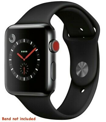 $ CDN154.60 • Buy Apple Watch (Series 3) 42mm Space Black Stainless Steel Case With GPS & Cellular