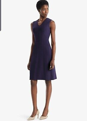 $ CDN194.66 • Buy NWT MM Lafleur  The Annie Eggplant Dress Size 0P