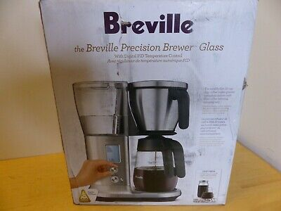 $214 • Buy Breville BDC400 Precision Brewer Glass Coffee Maker - Brushed Stainless Steel