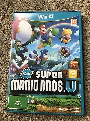 AU32 • Buy New Super Mario Bros Wii U  Great Condition Checked And Working Nintendo Switch