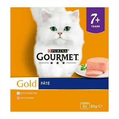 Purina Gourmet Gold Adult In Gravy Or Senior Pate 8 X 85g Cans • 18.99£