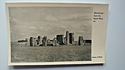 Stonehenge, From The Northwest Postcard • 3£