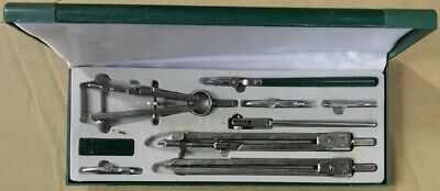 £24.99 • Buy Boda Stainless Steel Technical Drawing Drafting Compass Ruling Pen Set - USED-