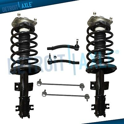 $133.40 • Buy Front Struts & Coil Spring Assembly Sway Bar Outer Tierods For Volvo V70 S80 S60
