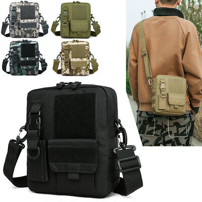 $17.89 • Buy Small Tactical Sling Chest Pack Bag Molle Daypack Backpack IPad Mini Military US