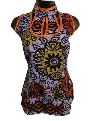 $20 • Buy African Womens Multicolor Sleeveless Blouse