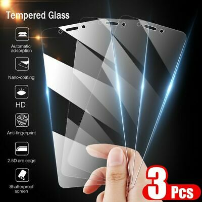 $2.99 • Buy For Xiaomi Redmi Note 6 7 Pro Note 5 Pro Tempered Glass Screen Protector 3-Pack