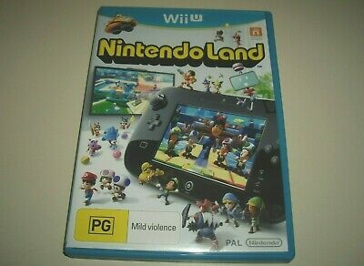 AU15.99 • Buy Nintendo Land Wii U Rare Retail Version Brand New AU NintendoLand
