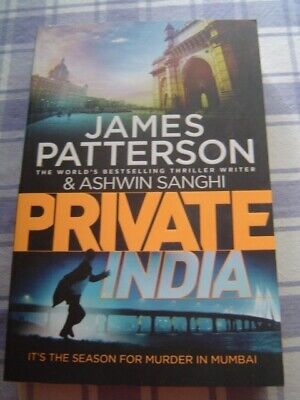 AU7.95 • Buy James Patterson       PRIVATE INDIA        LgPB      (2014)      ExCOND!!