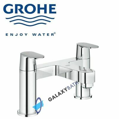 Grohe Eurosmart Cosmopolitan Two Handles Bath Shower Tap Deck Mounted Two Hole • 129.99£