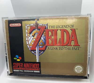 AU2750 • Buy The Legend Of Zelda: A Link To The Past BOXED COMPLETE LIKE NEW SNES! AUS PAL