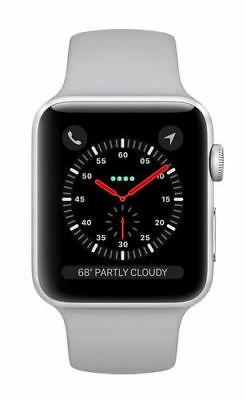 $ CDN133.90 • Buy Apple Watch Series 3 42mm Silver Aluminium Case With Fog Sport Band (GPS +...