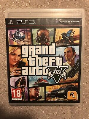 AU12 • Buy Grand Theft Auto( GTA5) - PlayStation (PS3) Complete W/ Map + Book Nr Mint Disk.