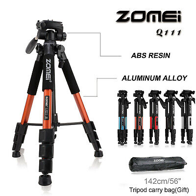 AU36.09 • Buy ZOMEI Tripod Stand Monopod For Digital Camera Camcorder Phone Holder IPhone DSLR