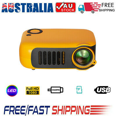 AU65.80 • Buy Mini Portable Pocket Projector Home Theatre HD Supports Up To 1080p Video AU