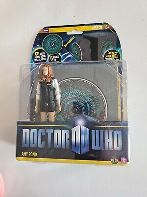 Doctor Who Amy Pond Figure In Police Uniform,  Collect And Build Pandorica Cd... • 18£