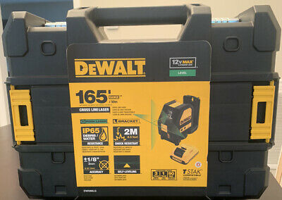 $340 • Buy DEWALT DW088LG 12V Lithium-Ion Self-Leveling Green Cross Line Laser New