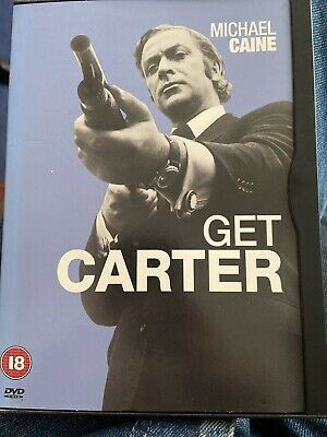 Get Carter [1971] [DVD], New OS Mint Unplayed Michael Caine, Free Pp • 5.99£