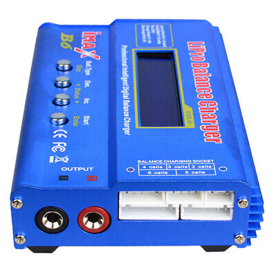 AU30.37 • Buy IMAX B6 Mini Balance Charger Discharger LIPO For RC Drone Battery Charging
