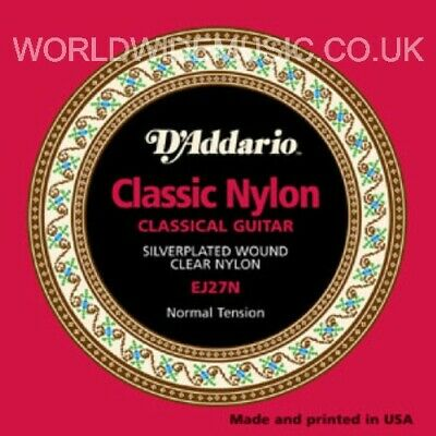 $ CDN15.56 • Buy 1 Pack Of D'Addario EJ27N Classic Nylon Guitar Strings - Normal Tension