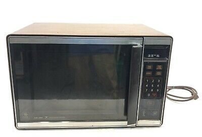$189.95 • Buy General Electric GE JET209001 Microwave Oven 1250W Dual Wave Vintage 1982