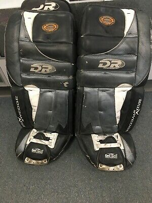 "$75 • Buy Senior Adult Size 34"" Inch DEFLEX WEDGE Ice Hockey Goalie Leg Pads"