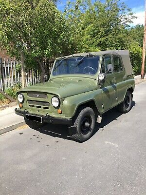 UAZ 469 Soviet Russian Army Jeep Classic Military Vehicle UK REG • 6,500£