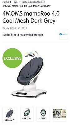 AU400 • Buy 4moms Mamaroo - Local Pick Up Pyrmont Only