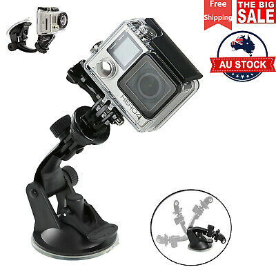 AU9.98 • Buy Action Camera Car Suction Cup Mount Holder + Tripod For GoPro Hero 7/6/5/4 SJCAM