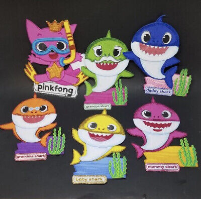 $11.99 • Buy 10 Baby Shark Favors Wall Decoration Party Favor Hangable Favor Baby Shark Favor