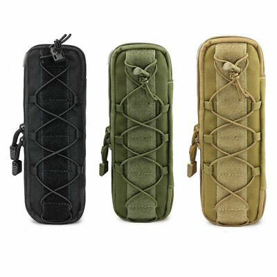 $9.99 • Buy Military Molle Pouch Tactical Knife Pouches Waist Bag EDC Tool Flashlight Holder
