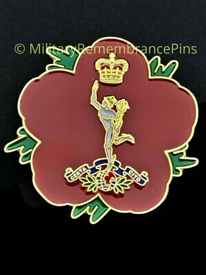 £9 • Buy Royal Corps Of Signals Remembrance Flower Lapel Pin (P3)