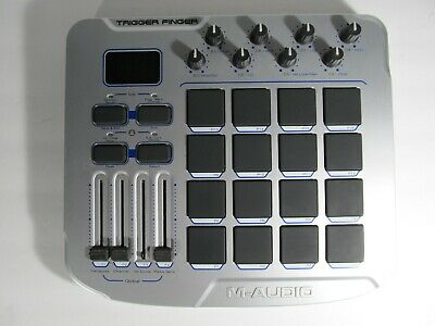 $73.99 • Buy M-Audio Trigger Finger MIDI Controller With Pads