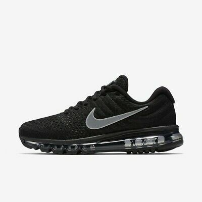 $159.95 • Buy Nike Air Max 2017 Black Anthracite White 849559-001 Men's Running Shoes NEW!