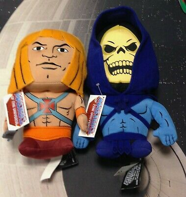 $67.12 • Buy Mattel He-Man / Skeletor Masters Of The Universe 8  Plush Figures By Comic Tags