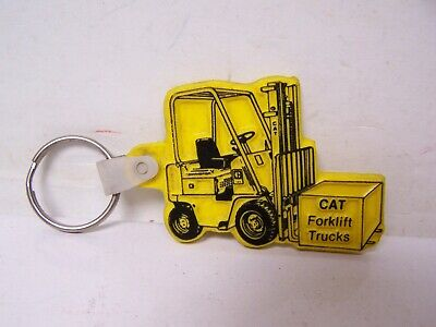 $9.99 • Buy Vintage CAT FORKLIFTS KEYCHAIN Key Chain Caterpillar Co. RANSOME LIFT PA