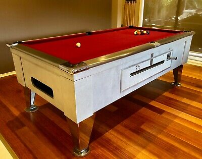 AU3300 • Buy Custom Built Stainless Steel Pool Table - 7 Foot With Cover And Accessories
