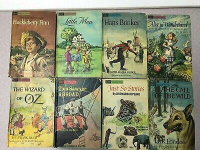 $29.99 • Buy COMPANION LIBRARY Classic Books For Children! All Vintage Hardcover, Lot Of 15!
