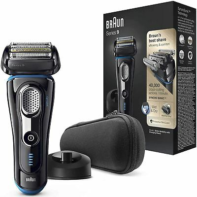 AU379.77 • Buy Braun Series 9 Electric Rechargeable Shaver For Men With Charging Stand - 9242s
