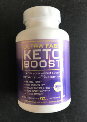 $9.99 • Buy Ultra Fast Keto Boostweight Loss Supplement To Burn Fat Fast Pills 60 Pieces.BHB