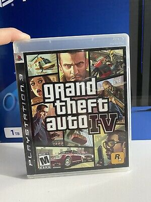 AU8 • Buy Grand Theft Auto IV (PlayStation 3, 2008)