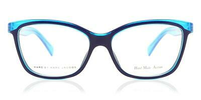 $24 • Buy $140 Marc Jacobs Designer Eyeglasses Womens MMJ 614 52-15-135 Blue Black