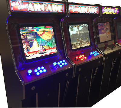 £1 Coin Operated Arcade Machine - Classic Games - Retro Gaming - Games Room Shed • 849.99£