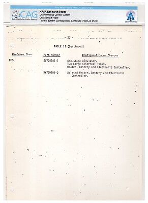 $350 • Buy Apollo 11 Document Owned By Neil Armstrong - In CAG Holder - LOA From His Sons