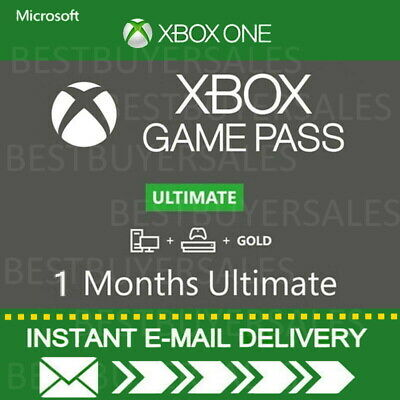 $4.88 • Buy Xbox Live 1 Month Gold & Game Pass Ultimate (2 X 14 Day) -INSTANT EMAIL DELIVERY