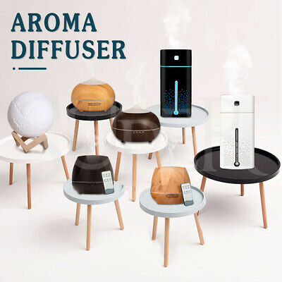 AU17.99 • Buy Aromatherapy Diffuser Aroma Essential Oils Ultrasonic Air Humidifier Purifier