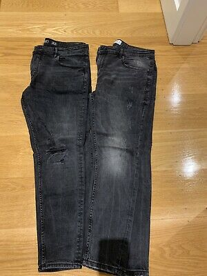 AU20 • Buy 2x Pull And Bear Jeans Size 36