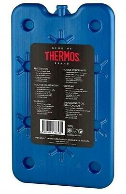 Genuine Thermos 400g Freeze Board Large Ice Block Flat Travel Ice Pack • 4.95£