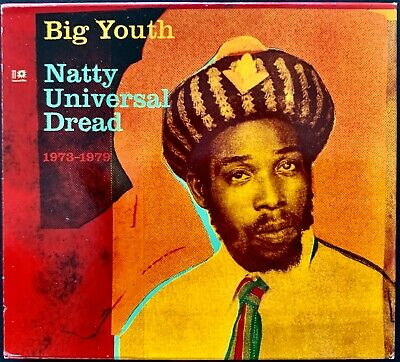 BIG YOUTH Natty Universal Dread 1973-1979 EX 3 X CD Box Set BLOOD & FIRE Promo • 28.94£